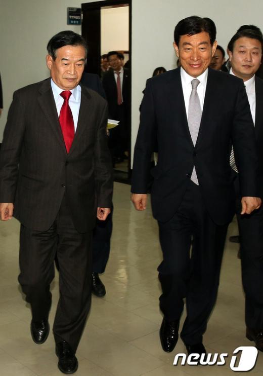 """[사진]국호 정보위, """"북핵"""" 대책 회의"""
