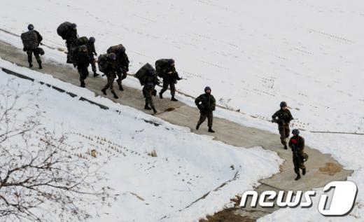 [사진]北 3차핵실험 강행, 군 경계 강화