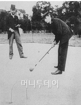 1900년 올림픽 크로케 경기 모습 ⓒWikipedia<br />