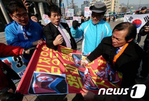 [사진]북한 3차 핵실험 강력히 규탄