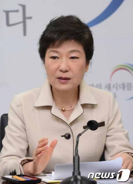 [사진]북핵 관련 입장 밝히는 박근혜 당선인