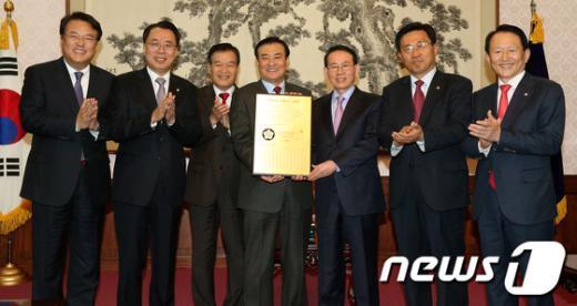 [사진]19대 국회 선플정치 선언
