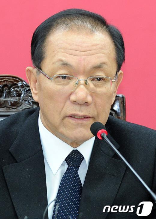 황우여 새누리당 대표. 2012.2.24/뉴스1  News1 박세연 기자