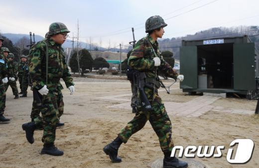 """[사진]""""올해 첫 예비군훈련 실시"""""""