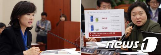 [사진]재산 은닉 의혹에 답하는 조윤선 의원
