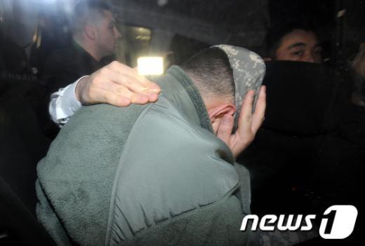 [사진]주한미군의 부끄러운 귀가