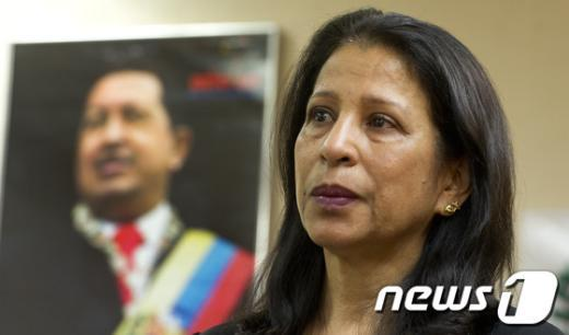 [사진]눈시울 붉히는 주한 베네수엘라 대사