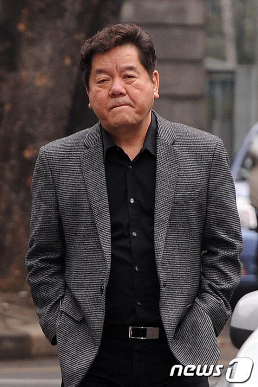 """[사진]파산신청한 심형래 """"착잡한 마음"""""""