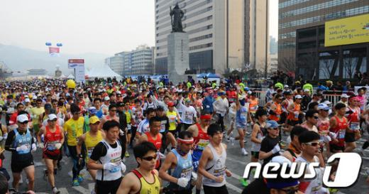 [사진]2013 서울국제마라톤 대회