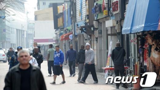"""[사진]동두천, """"주한미군 한국인과 난투극"""""""