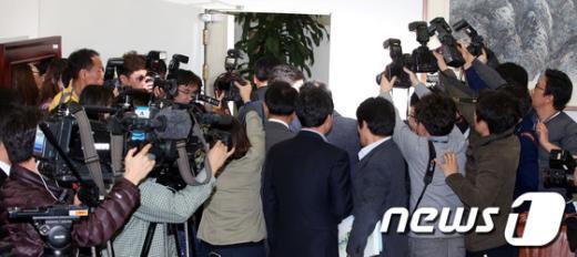 [사진]정부조직법 막판 협상에 쏠린 관심