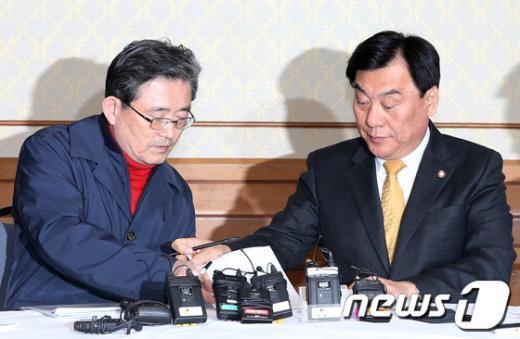 [사진]정부조직법 협상, 朴 정부 21일만에 최종 타결