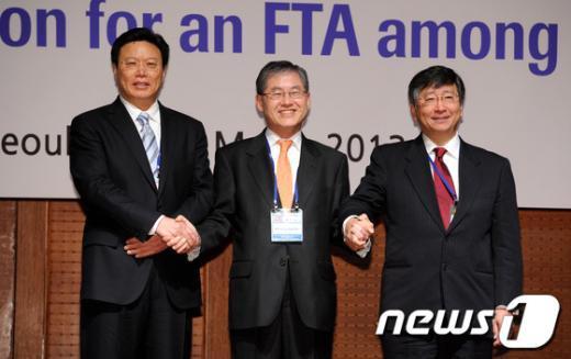 [사진]한중일 FTA 1차 협상