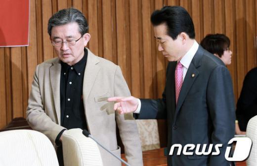 """[사진]""""100% 국민행복실천본부"""" 이끌 이한구-나성린"""