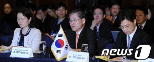 [사진]한국 측 FTA 교섭대표단