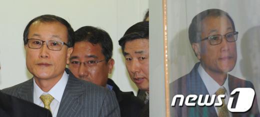 """[사진]김재철 사장, """"해임안 처리는(?)"""""""