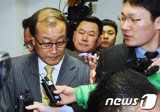 [사진]김재철 MBC 사장 해임