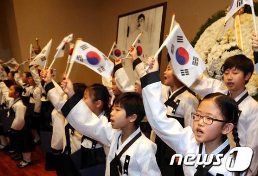 [사진]안중근 의사의 애국정신을 기리며