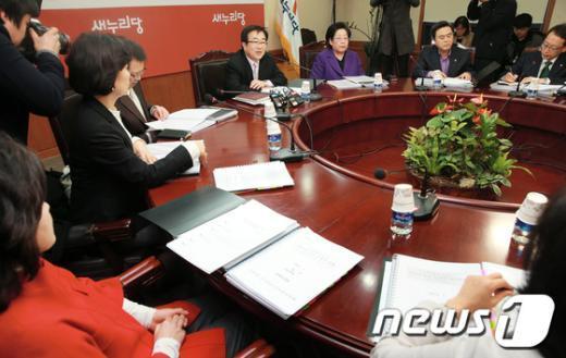 [사진]새누리당 4.24 재보선 공천심사위 5차회의