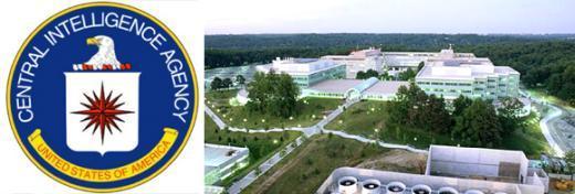 ↑ CIA 로고와 본부전경