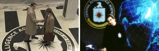 ↑ CIA를 소재로한 영화의 한장면.