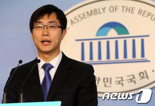 [사진]장경태 청년위 부위원장, 최고위원 출마 선언