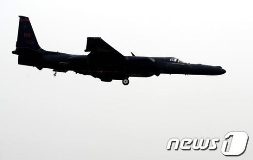 [사진]오산 미공군기지로 돌아오는 고고도 정찰기
