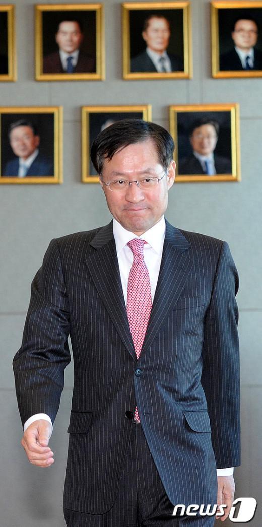 김진태 대검찰청 차장.  News1 박지혜 기자