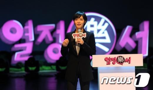 """[사진]김주하 앵커, """"여대생을 위한 맞춤 강연"""""""