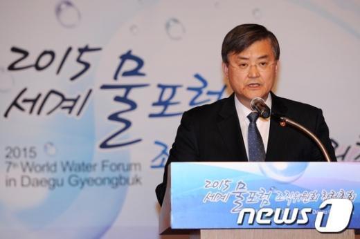 [사진]개회사하는 서승환 국토부 장관