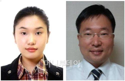(사진 왼쪽부터)김민지 학생, 최준혁 박사