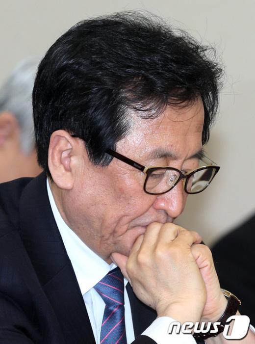 [사진]최수현 금융감독원장, 국회 정무위 참석