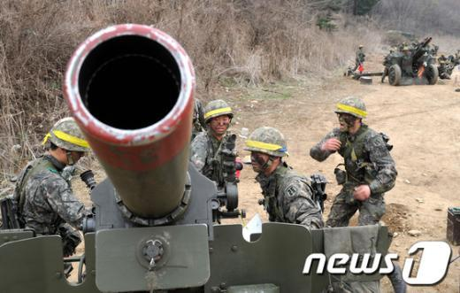 [사진]훈련하는 25사단 장병들