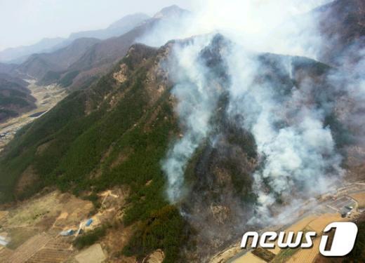 [사진]불타는 山