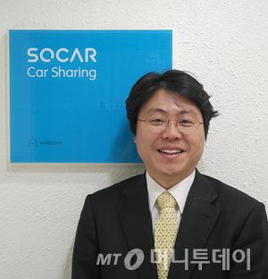 ↑김지만 쏘카 대표이사.