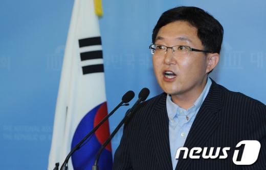 김용태 새누리당 의원.. 2012.7.13/뉴스1  News1 양동욱 기자
