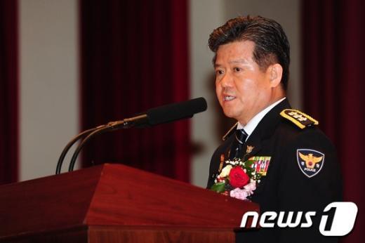 김정석 서울지방경찰청장. /뉴스1  News1 한재호 기자