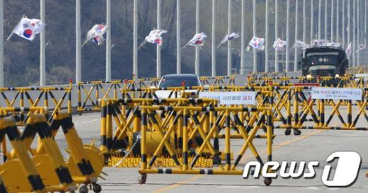 [사진]20일째 이어지는 개성공단 가동 중단