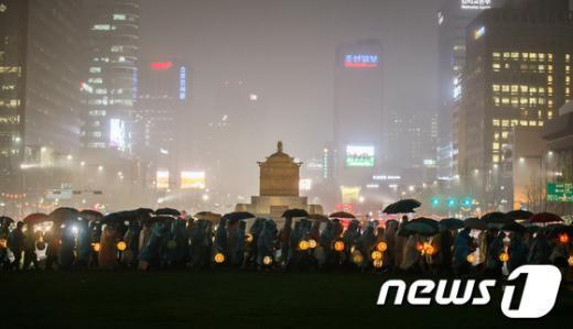 [사진]광화문광장 연등행렬