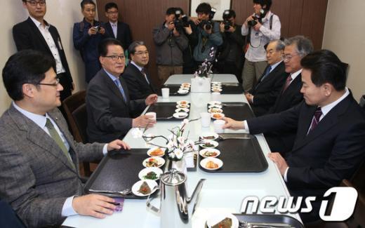 [사진]민주, 남북현안 회동