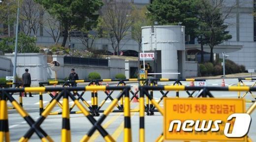 [사진]압수수색 중인 국정원