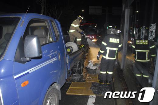 [사진]구로구 고척동 차량화재