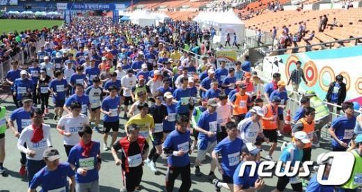 [사진]제123주년 노동절 마라톤 대회