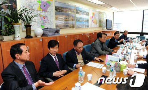 [사진]긴급 이사회 소집된 개성공단기업협회