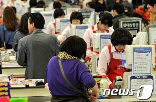 [사진]휴일에 더 바쁜 근로자들