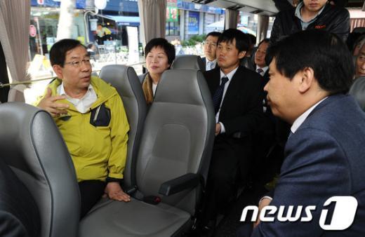 [사진]구로구 방문한 박원순 시장