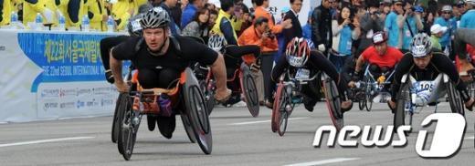 [사진]서울국제휠체어마라톤대회