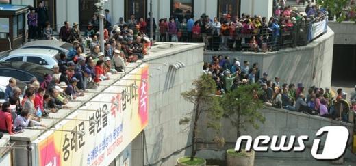 [사진]숭례문 어디서 잘보이나?