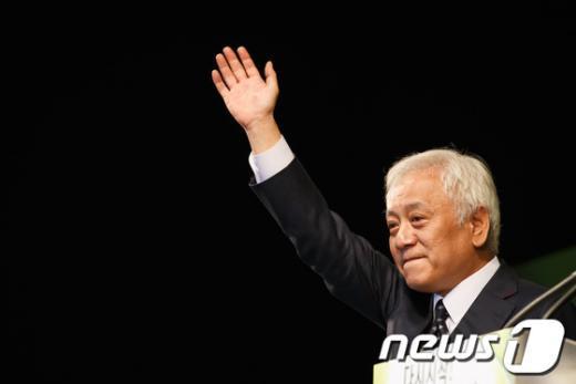 """[사진]민주당, """"김한길 號 출범"""""""