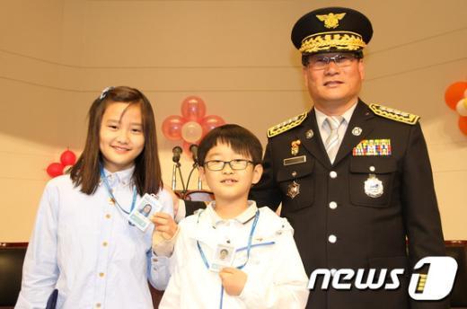 [사진]성북소방서, 119어린이 안전홍보대사 위촉식